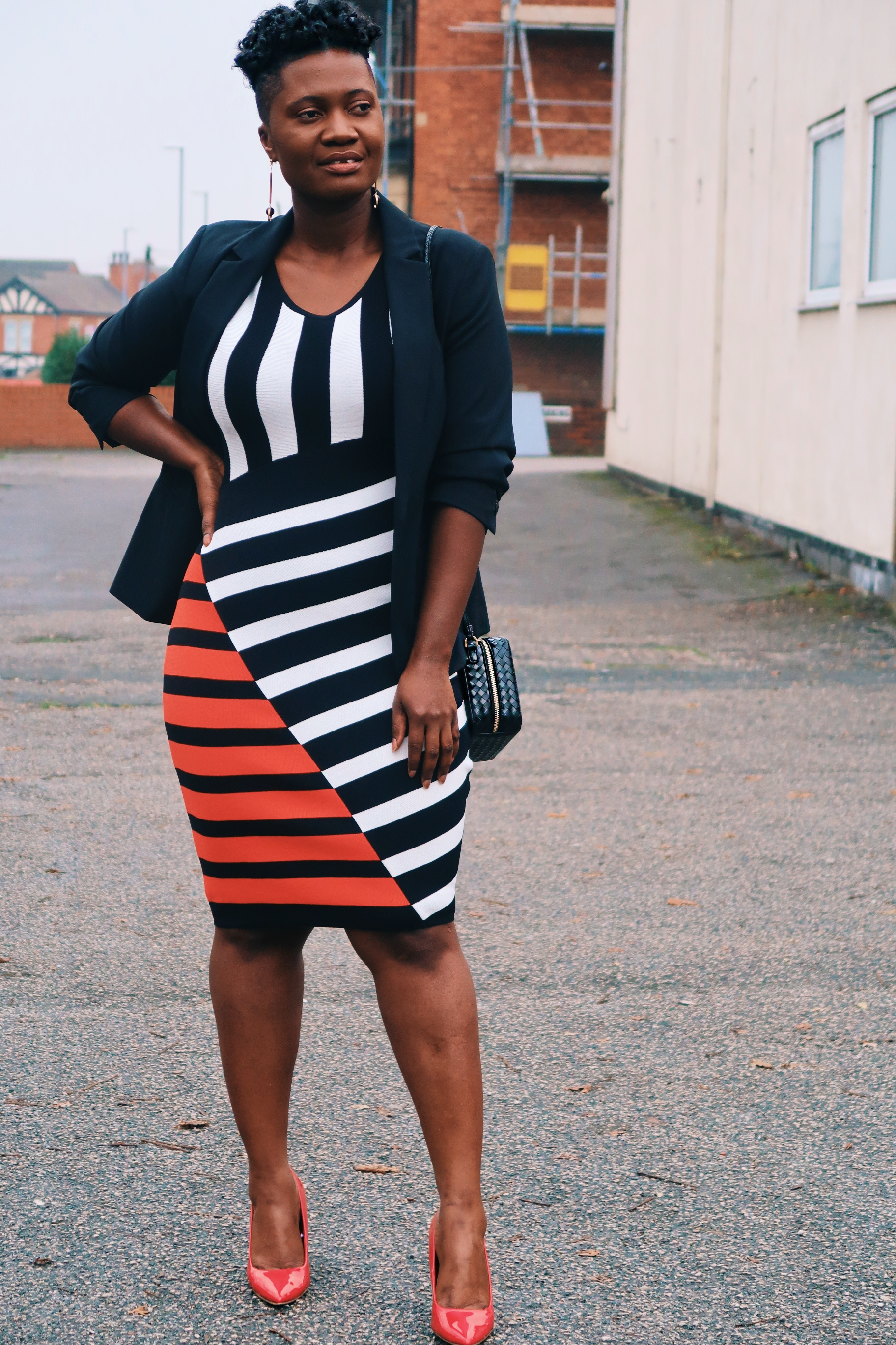 striped sweater dresses