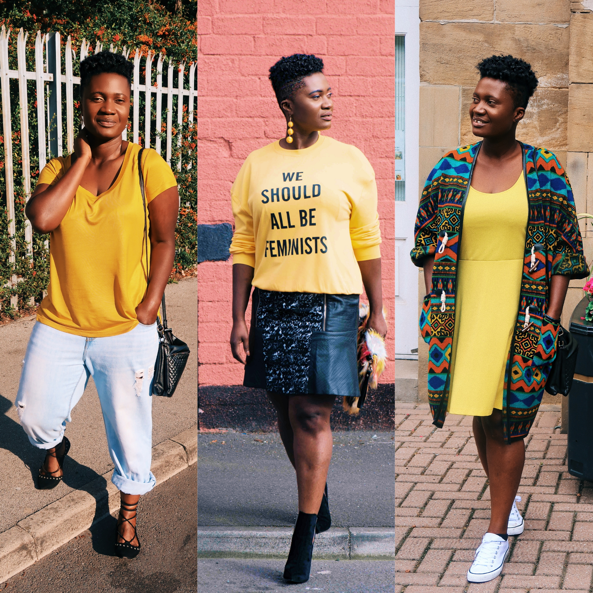 styling yellow pieces