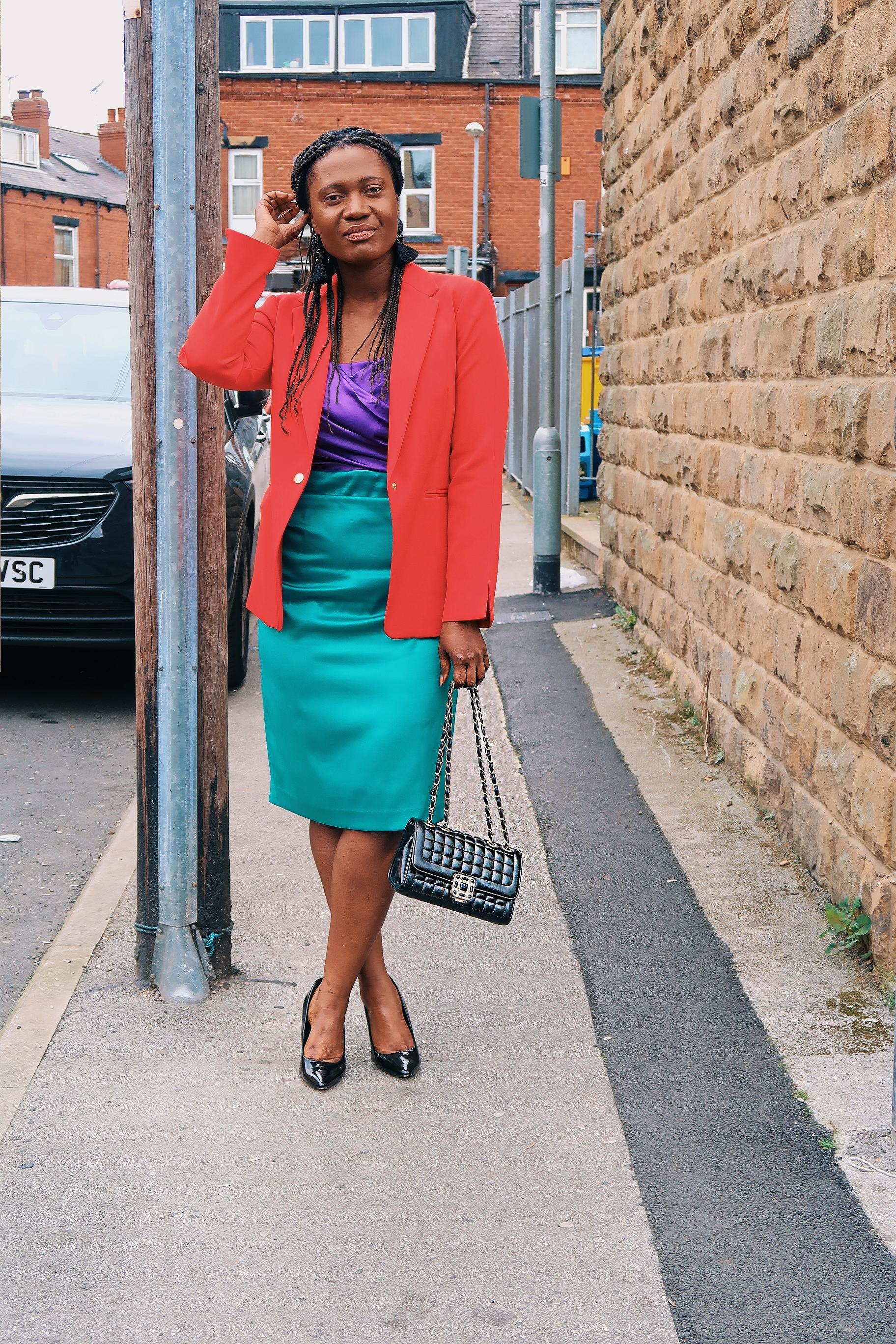 colour block dresses