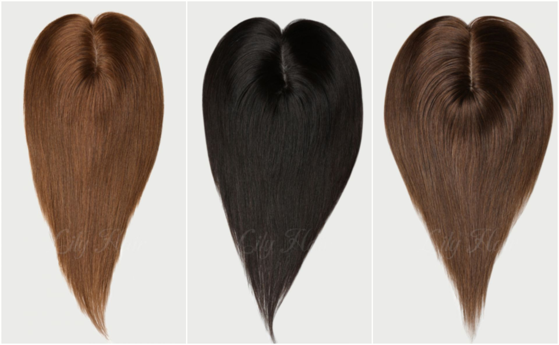 human hair toppers